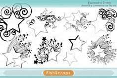 shooting star templates - Google Search