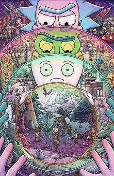 Gallery 1988's Rick & Morty tribute art show features illustrations from artists such as Dan Mumford, Scott Listfield and Anthony Petrie.