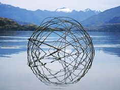 Spectacular Land Art Sculptures Made From Sticks and Stones Reflect Natural Cycles | Inhabitat - Sustainable Design Innovation, Eco Architec...