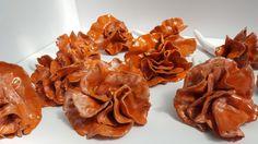 Orange Ceramic flowers