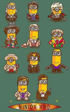 Dr who minions       Hey Deana Ross!