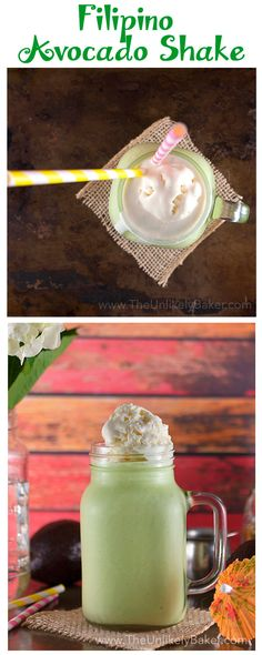 Avocado milkshake -
