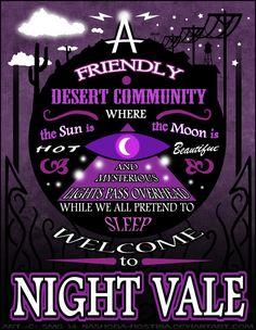 Night Vale Poster by Nashoba-Hostina on DeviantArt