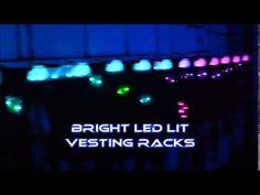 Zone Laser Tag - Helios Illuminated Vesting Racks