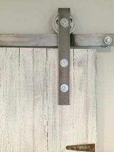 DIY barn door hardware!!! I'm sooo doing this!!!