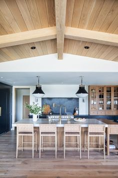 Interior Desing, Home Interior, Estudio Mcgee, Dark Countertops, Home Studio, Studio Living, Cuisines Design, Kitchen Living, Home Kitchens
