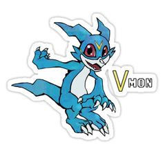 ====== Merch for Sale ====== Digimon - Veemon by Kaiserin