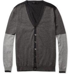 Alexander McQueenPanelled Wool Cardigan