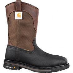 CMP1258 Carhartt Men's Waterproof Safety Boots - Brown www.bootbay.com