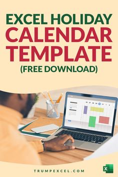 Here's a free Excel holiday calendar template that you can download and instantly know what days the Holidays are. It's dynamic so you can change the year and it would automatically update (as it runs on magical Excel formulas). It will also tell you how many days are left before your next holiday as well as to the number of days left before your next long weekend holiday. Excel For Beginners, Excel Hacks, Excel Calendar, Pivot Table, Holiday Calendar, Microsoft Excel, Day Work, Business Advice, Computer Tips
