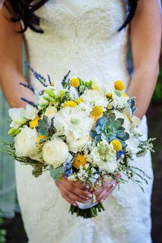 Botanical Inspired Wedding bouquet ~ William Innes Photography | bellethemagazine.com