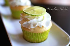 Sam... We should try making lime cupcakes from scratch