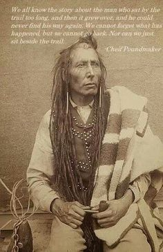Chief Poundmaker - Cree Tribe