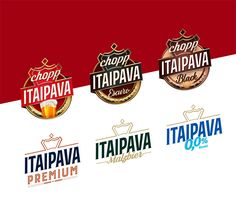 New Logo and Packaging for Itaipava Premium by Futurebrand Brand Identity, Branding, Packaging, Mood, Licence Plates, Logos, Beverages, Malt Beer, Brand Management