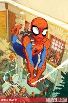 Spider-man by Karl Kerschl