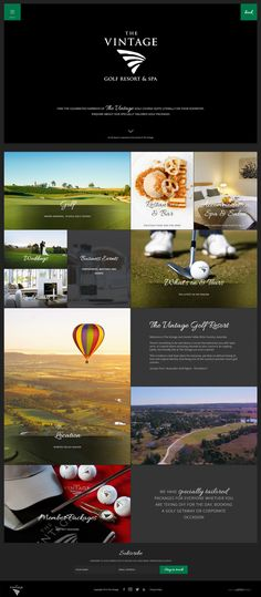 To accompany the new site for Chateau Elan, Hunter Valley Australia we sent a their new sister site live for The Vintage Golf Club.   Mirco-sites or sister-sites are a great way of drawing in a wider range of traffic to your website, find out more here - https://www.youtube.com/watch?v=gvR78e666iU  See more - http://pebbledesign.com/our-work Site - http://www.thevintage.com.au/golf/index.html