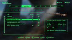 Fallout 4 UI, Jan-Wah Li on ArtStation at https://www.artstation.com/artwork/wN0nL