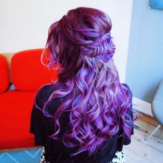 Purple Mermaid Hair Goals
