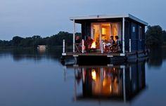 Houseboat trip, Mecklenburger Seenplatte,Germany