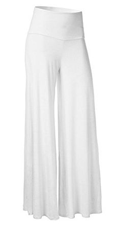 JZOEOEU Women's Comfy Long Lounge Pants High Waist Palazzo Wide Leg Pants -- Check out the image by visiting the link. (This is an affiliate link) Wide Leg Palazzo Pants, Wide Leg Trousers, Pants For Women, Clothes For Women, Stylish Tops, Fashion Deals, White Casual, Women's Casual, Lounge Pants