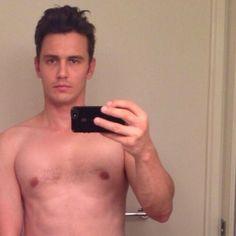 james franco shirtless bathroom selfie social networking