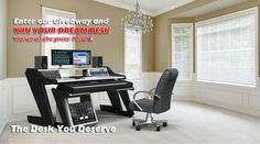 Win a Music Commander Set by Studio Desk (worth €1690)!