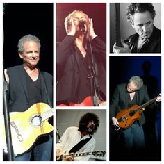 Lindsay Buckingham on tour with Fleetwood Mac Tour 2014-2015. Collage Created By Tisha 03/27/15