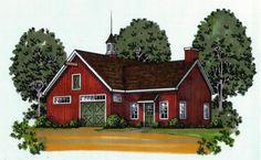 Blueprints for the the Oakmont Barn at BarnsBarnsBarns.com