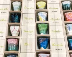 """Put your name on it and use it as a gift tag ♡ Do you know the ceramic cup """"Le Sur"""" like a jewel? Jewel Images, Small Soldiers, Japanese Wedding, Make A Man, Present Gift, Party Items, Ceramic Cups, Best Day Ever, Wedding Images"""