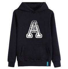 """""""A is for Apple""""  #hoodie #streetstyle #sweatshirt #bernaakkurt"""