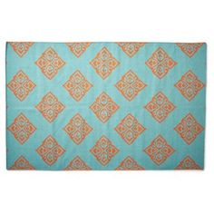 Check out this item at One Kings Lane! Notaro Flat-Weave Rug, Blue