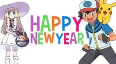 xD HAPPY NEW YEARS FROM LILLIE AND MARILL!!!