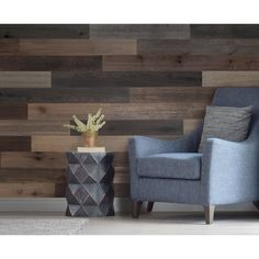 Genuine engineered hardwood wall planks with adhesive peel and stick backs. Available in many styles and colors, shop peel and stick wood wall planks today. Stick On Wood Wall, Peel And Stick Wood, White Brick Wallpaper, 3d Wall Panels, Wall Finishes, Engineered Hardwood, Modern Interior Design, Family Room, Home Improvement