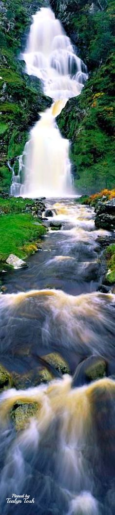 Ardara, Co Donegal, Ireland , Waterfall