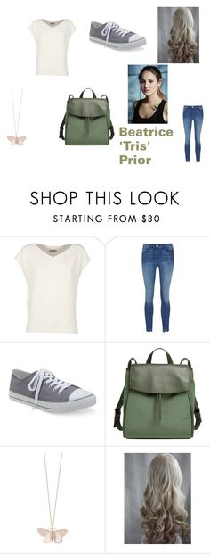 """Tris from Divergent"" by thatonemockingjay on Polyvore featuring Alberto Biani, 3x1, Aéropostale, Skagen and Alex Monroe"