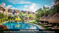 Valentin Imperial Maya - https://traveloni.com/vacation-deals/valentin-imperial-maya-4/ #mexicovacation #adultsonly #allinclusive #rivieramaya