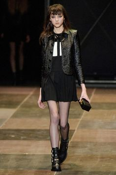 Yves Saint Laurent Fall 2013 RTW Collection - Fashion on TheCut