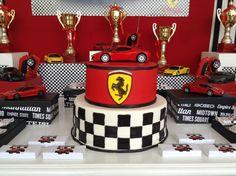 Ferrari Cake by Cakes Angola  -  www.pinterest.com/cakesangola