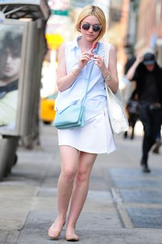 Our Favorite Back-to-School Outfit Ideas from Celebs: Dakota Fanning