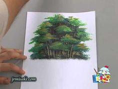 Pintura em Tela - Aula do Bambuzal - Parte II (Jr. Misaki)