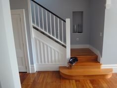 Wooden Staircases, Wooden Stairs, Crow's Nest, Crows, Entertainment Center, Centre, Vanity, Entertaining, Home Decor