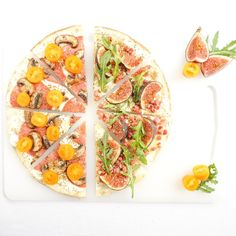 Wrap pizza  #recipefor1 #cookingforone #cookingfor1 #recipe #tortillawrap #pizza #comfortfood #salami #figs #tomato #bacon