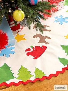 Easy Tree Skirt
