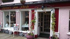 Quirky Little Tea Shop in Beaumaris North Wales fabulous place to visit Anglesey, Cymru, North Wales, Retail Shop, Store Fronts, Signage, Places To Visit, Shops, Tea