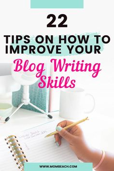 Check out these 22 amazing tips to improve your blog writing skills today! This post includes 7 exercises to improve your writing, and 8 techniques to write a professional blog post. // Mom Beach -- #blogging101 #bloggingtips #howtoblog #writingskills #blogwritingtips Small Business Marketing, Content Marketing, Business Tips, Online Marketing, Blog Writing Tips, Writing Skills, Blog Tips, Creative Writing Exercises, Sample Paper