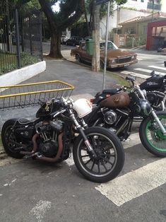 Harley bobbers