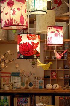 Hannah Nunn - love the foxy lamp shade
