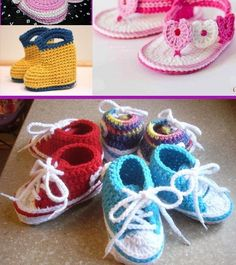 This baby booties pattern is simple, fast and will not need any sewing ... #newborn #amazon8 #Crocheting (Affiliate link)... Crochet Simple, Easy Crochet Patterns, Baby Patterns, Free Crochet, Block Patterns, Baby Booties Free Pattern, Booties Crochet, Crochet Baby Booties, Crochet Hats