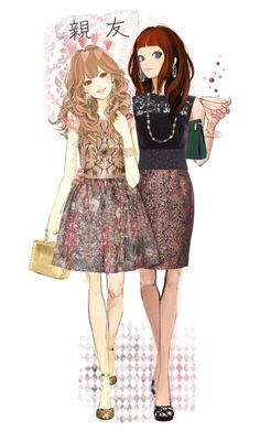 """""""#252. [BF4E] ♦ TS"""" by yuuurei ❤ liked on Polyvore featuring art, doll, OC and BestFriends"""