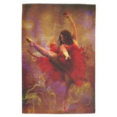 Live More / Dance more Kitchen tea Towel by GameRoom #kitchen #home